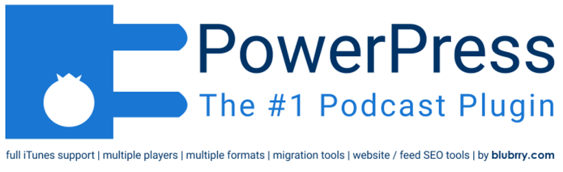 PowerPress Podcasting plugin by Blubrry HTML5 audio player plugin