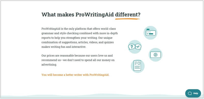 ProWritingAid to improve english writing skills