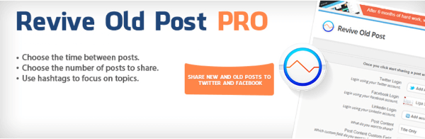 Auto-share old blog posts revive old blog posts plugin image