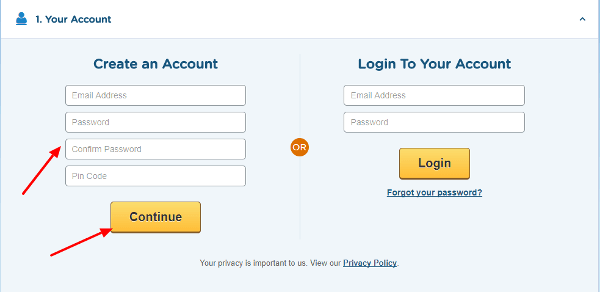 Hostgator customer account details