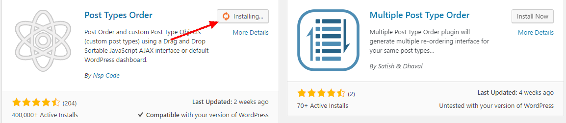 How to install WordPress plugin on the WordPress dashboard
