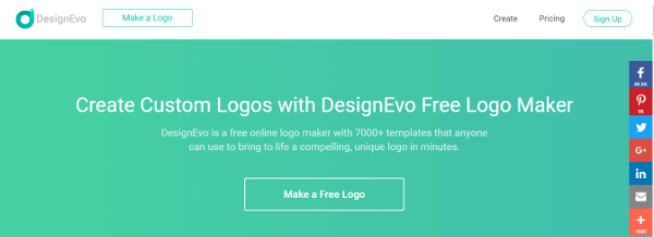 DesignEvo best logo design maker