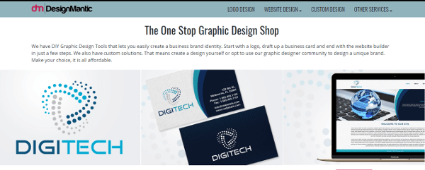 Designmantic best logo design maker