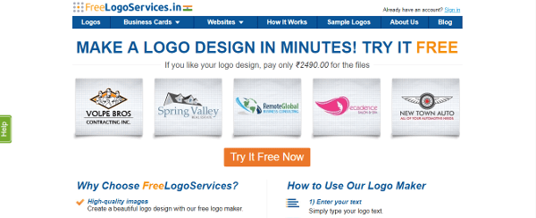 Freelogoservices Make A Logo In Minutes