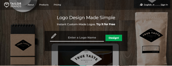 Tailor Brands Logo Design Made Simple