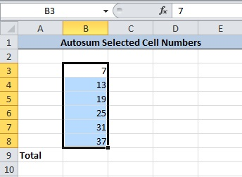 Select Cells Contains Numbers To Find