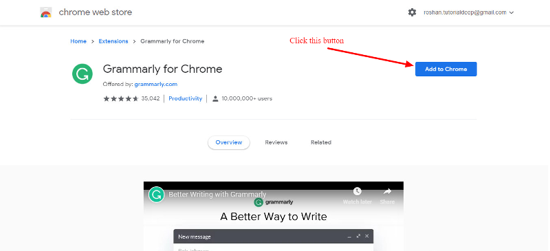 Grammarly Extension For Chrome
