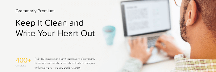 Grammarly english writing premium page