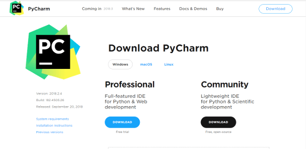 Pycharm Best IDE Text Editor For Python