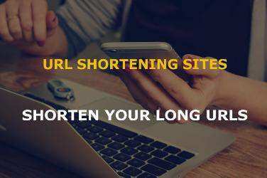 url shortener sites