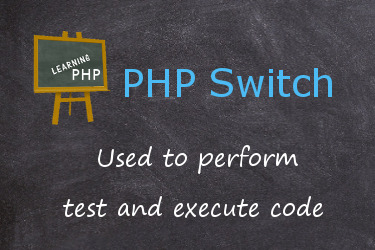 PHP switch case conditional statement