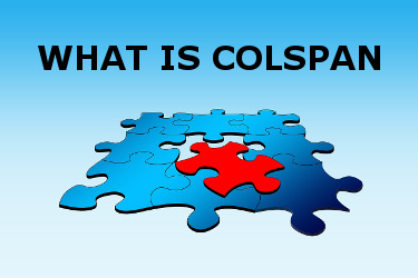 What is colspan